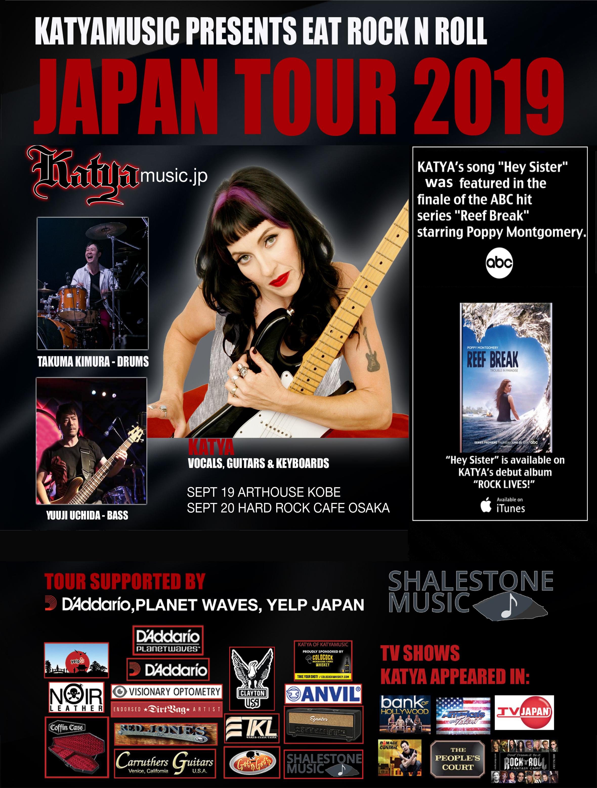 KATYA 2019 JAPAN TOUR