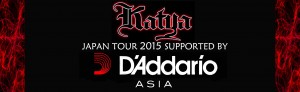 Daddario SUPPORTS KATYA JAPAN TOUR