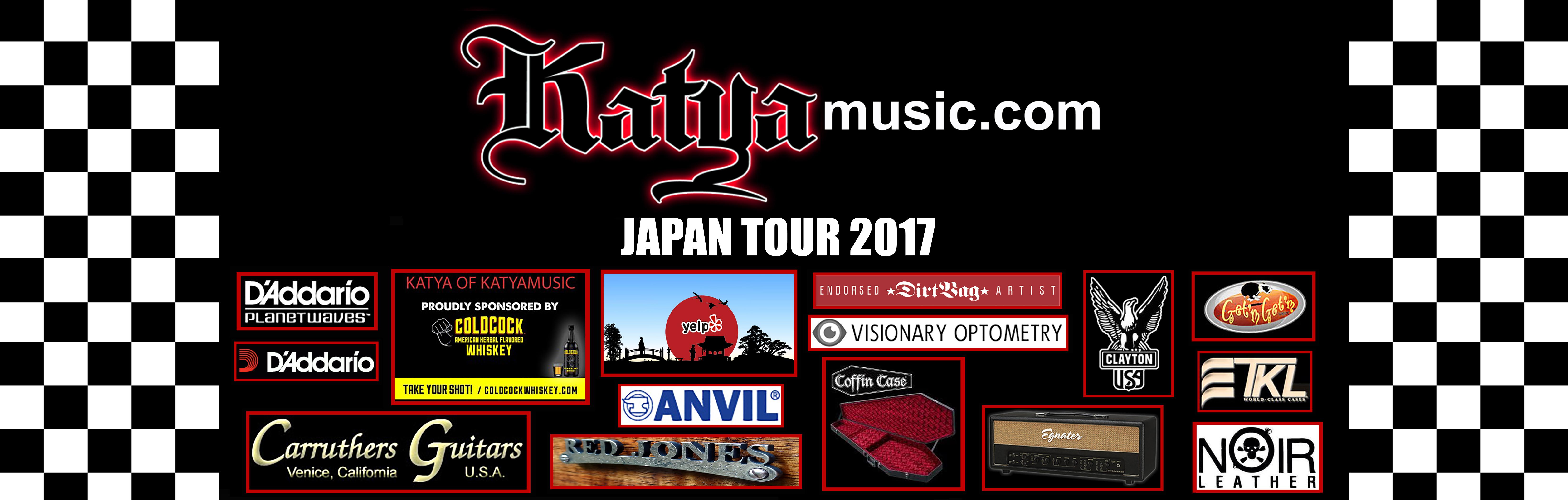 KATYA 2017 JAPAN TOUR